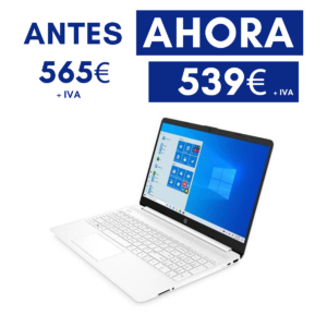 Ordenador portátil HP. Procesador Ryzen 5 4500U 2,3 GHz, Windows 10 Home